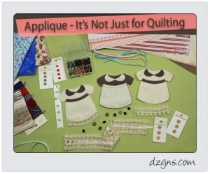 Applique - It's not just for quilting