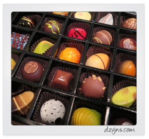 What I learned from a box of gourmet chocolates