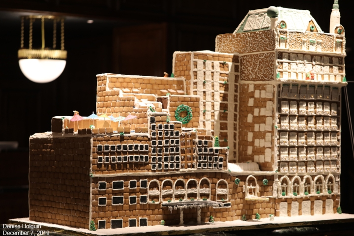 Gingerbread Adolphus Hotel